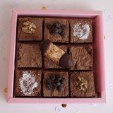 Dubbel chocolade brownie VEGAN_