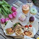 High tea VEGETARISCH_