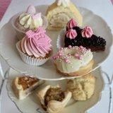 Babyshower high tea meisje VEGETARISCH_