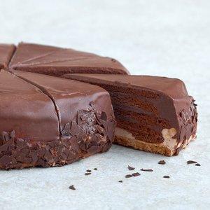 Pure chocolade punt.