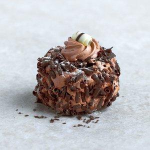 Chocolade hazelnoot gebak