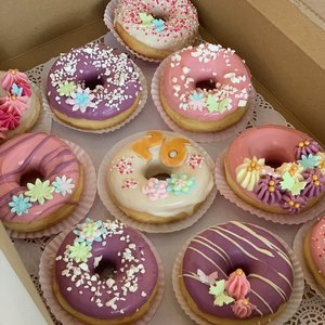 Mix box donut 8 stuks