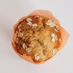 Wortel-Havermout muffin