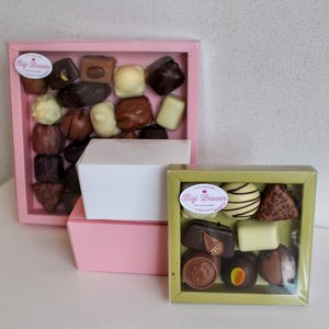 Bonbons verpakt per 100 gram