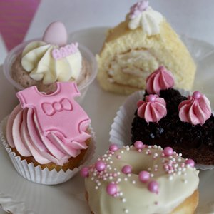 Babyshower high tea meisje GLUTEN -EN LACTOSEVRIJ