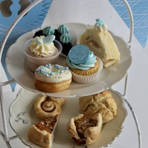 Babyshower high tea jongen VEGETARISCH